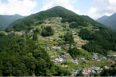 祖谷山 落合地区