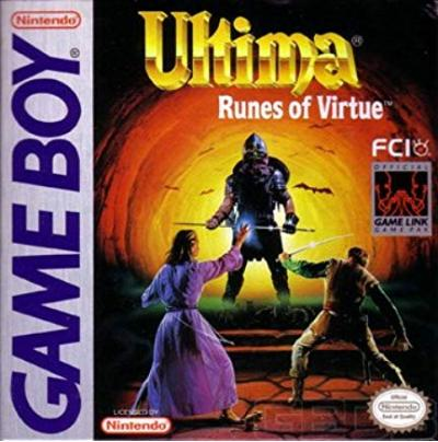 Ultima Runes of Virtue