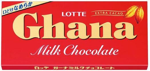 ロッテ ガーナミルクチョコレート
