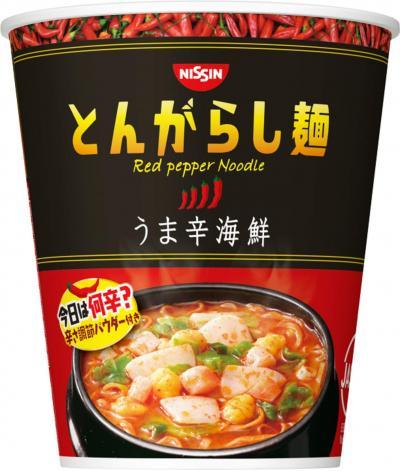 日清食品 とんがらし麺 うま辛海鮮