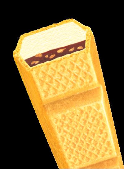 チョコナッツバニラモナカ