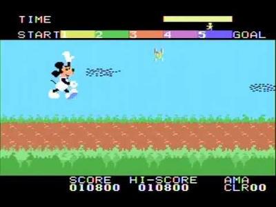 ミッキーマウスのアスレチックランド