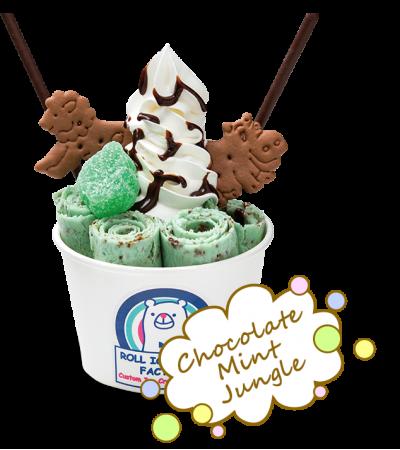 ロールアイスクリーム