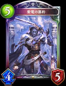 紫電の黒豹