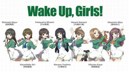 アニメ「Wake Up, Girls!」キャラクター投票