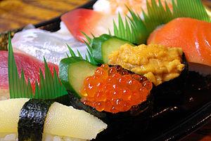 人気のある日本食のランキング